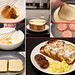French Toast Breakfast Collage