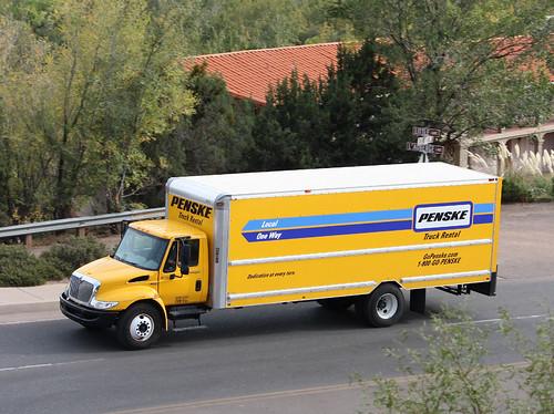 Penske Truck Rentals Last I Heard Roger Penske Owned And Flickr