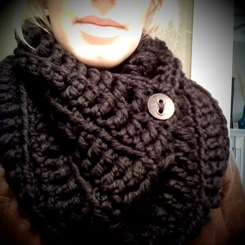 My latest design...the Black Hole cowl | by elletrain