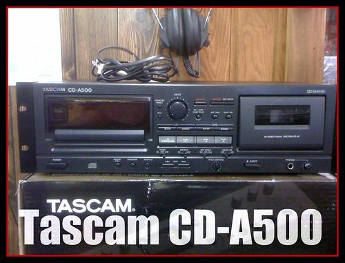 Tascam Cd A500 Sound Core Music Amp Video 122 S Illinois