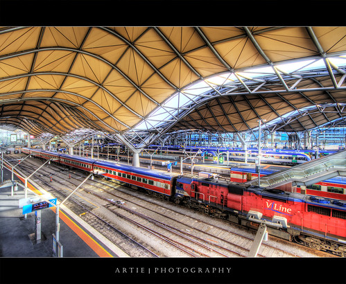 Southern Cross Railway Station, Melbourne :: HDR | by :: Artie | Photography :: Travel ~ Oct