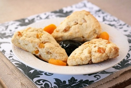 2009.11.30 Apricot Ginger Scones | by Xiaolu // 6 Bittersweets
