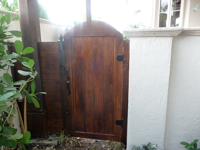 Charmant ... Custom Solid Wood Patio Gate | By Outdoor Kitchens U0026 Living Of Florida