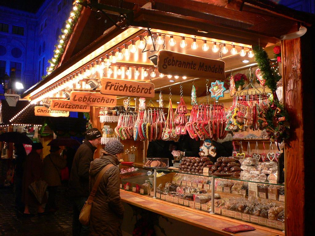 Christmas Market In The Residenz In Munich Read My