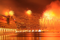 Funchal New Year's Fireworks (detail) | by Madeira Island
