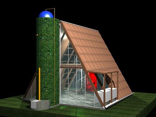 Casa ecol gica prefabricada img 32 i igo ortiz - Casa prefabricada ecologica ...