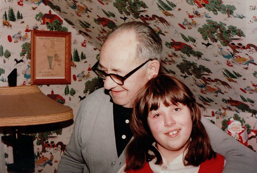Opa and Becke, Christmas Eve 1982 | by beckeboyer