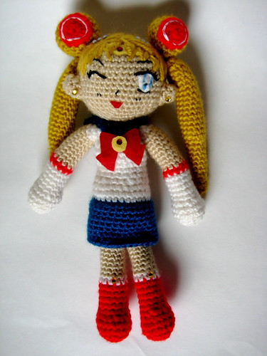 Amigurumi Sailor Moon : Sailor Moon Amigurumi amigurumi that I made; Original ...