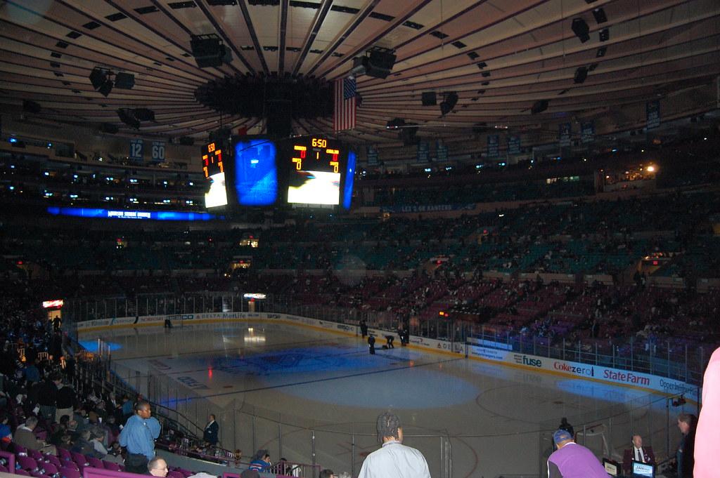Rangers Vs Carolina Hurricanes  Madison Square Ga