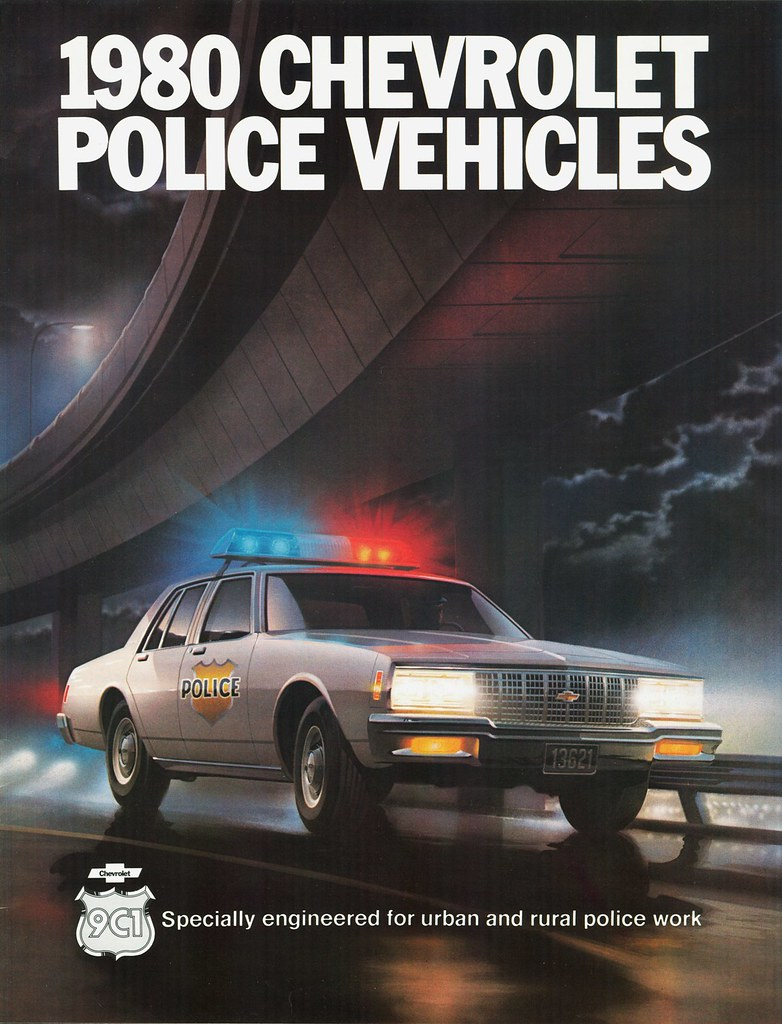 5 Door Car >> 1980 Chevrolet Police Vehicles | Chevy's 1980 police cars ...