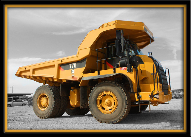 Cat 770 Off Road Truck A Huge Truck But Actually Their