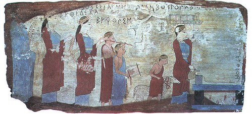 Ancient Greek Religion Animal Sacrifice In Corinth 6th