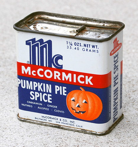 McCormick Pumpkin Pie Spice, 1950's | by Roadsidepictures