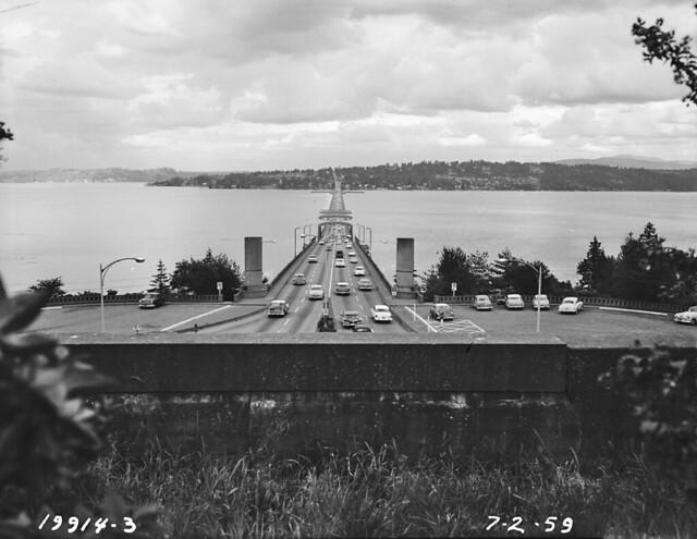 I 90 Floating Bridge 1959 Item 61695 Engineering