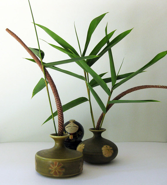 An Earthenware Pair Of Japanese