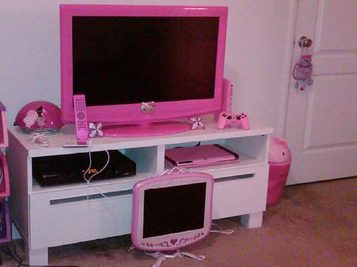 32 Inch Pink Tv Honoka Flickr