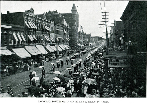 Joplin 1902 - pg 107 - South Main Street - Elks' Parade | by thomaswolfesghost