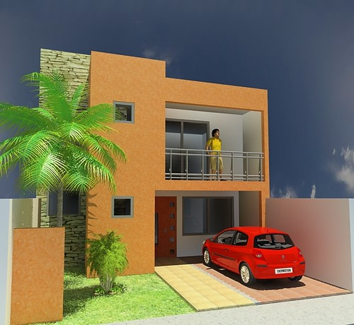 proyecto casa 7x15 mauro humberto garcia hernandez flickr On casa minimalista 7 x 15