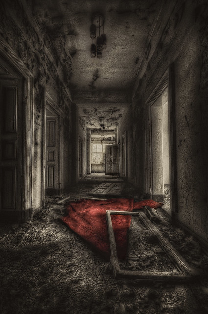 Spooky corridor ;) - Picture of Lumley Castle Hotel, Durham ...