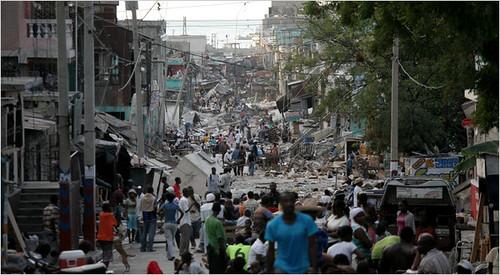 Haiti Port Au Prince Earthquake Rubble 1 13 10 Peta De Aztlan Flickr