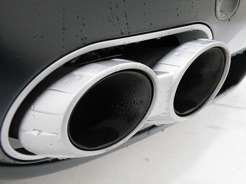 how to clean exhaust tips detailing world