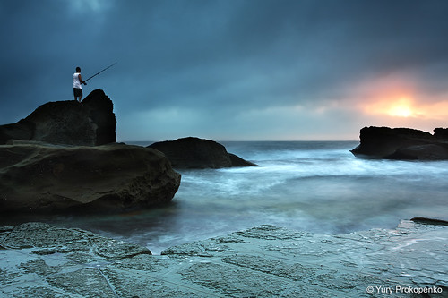 Fisherman @ Forresters Beach | by -yury-
