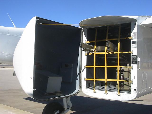 North American OV-10 CDF spotter/lead aircraft aft cargo d ...