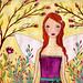 Fairy Fairytale Art Illustration Painting by Sascalia