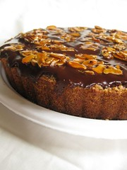 For Passover: Chocolate Almond Orange Tart | by jenna_huntsberger