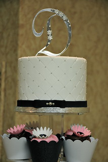 Wedding Cupcake Tower | by Designer Cakes By April