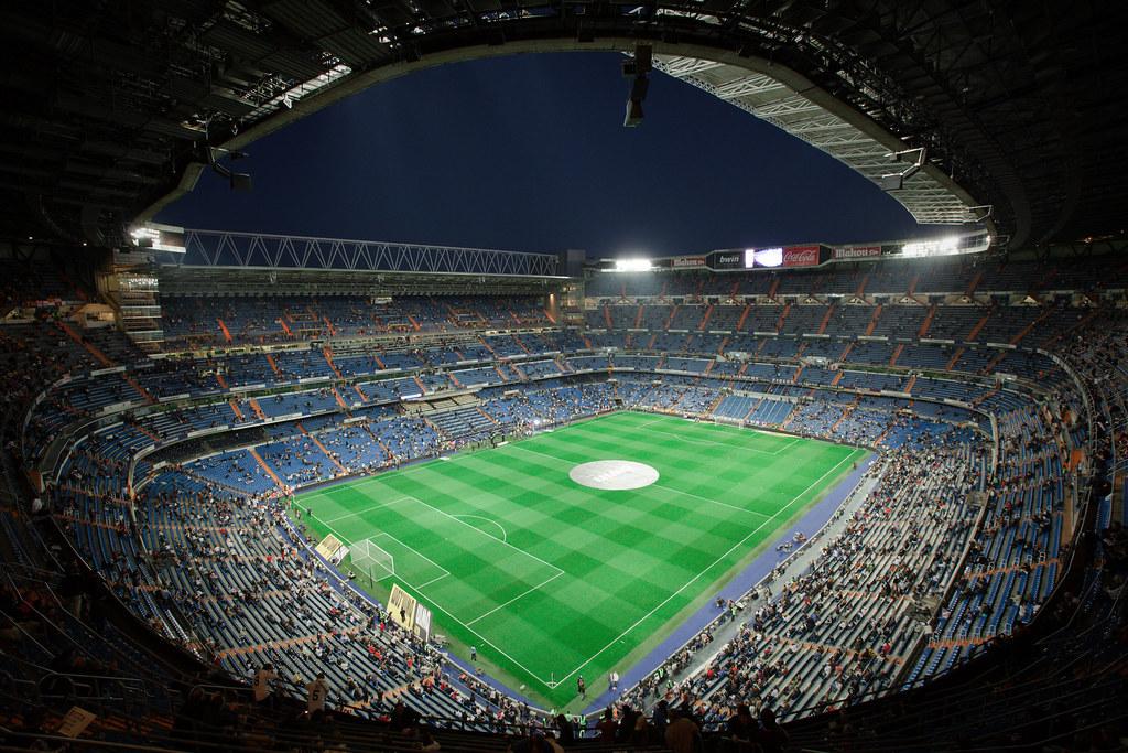 Estadio santiago bernabeu madrid apr 10 2010 the for Estadio bernabeu puerta 0