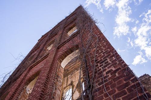 Glendale Mill ruins - 1