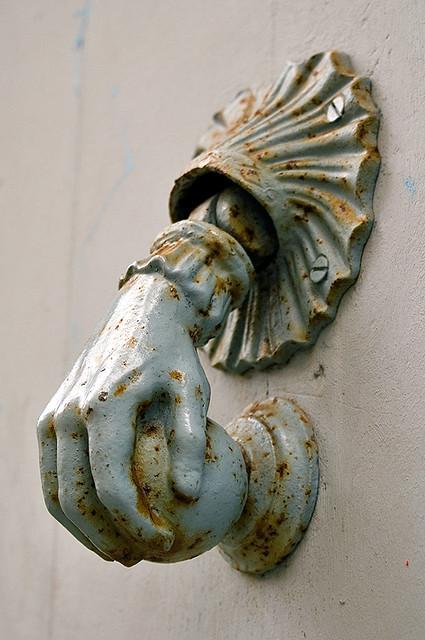 Superbe Hand Door Knocker | By Blackannis Hand Door Knocker | By Blackannis