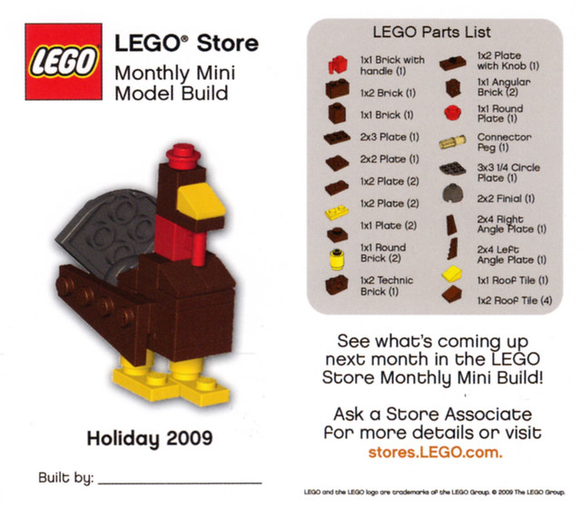 Lego Store Mmmb November 2009 Turkey Lego Store Monthl Flickr