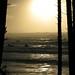 Sun setting at Ruby Beach