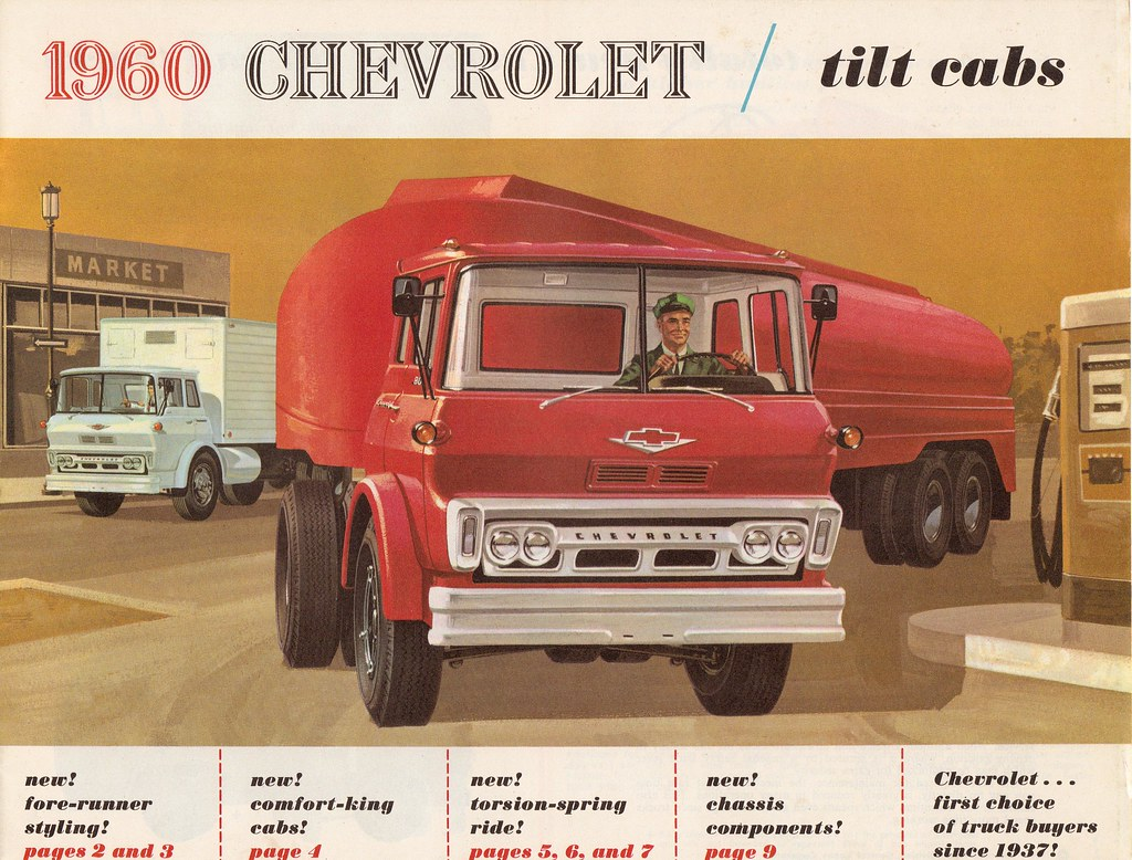 Tilt Cab 1960 | Brochure from my forty year collection. | JOHN ...