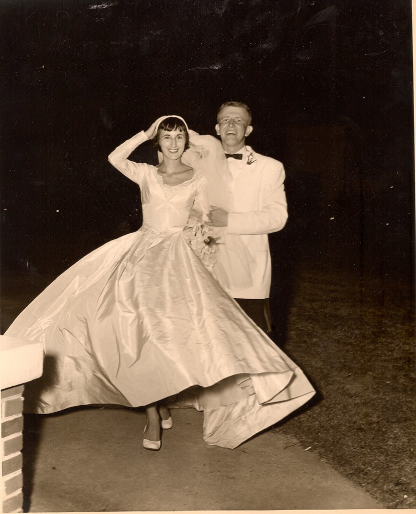Vintage 1955 Wedding Pictures From My Parents Wedding