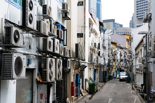 Singapore Where Air Conditioners Live Where Air