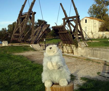 Karla Kunstwadl in der Provence ... Brücke von Langlois bei Arles - Vincent-van-Gogh