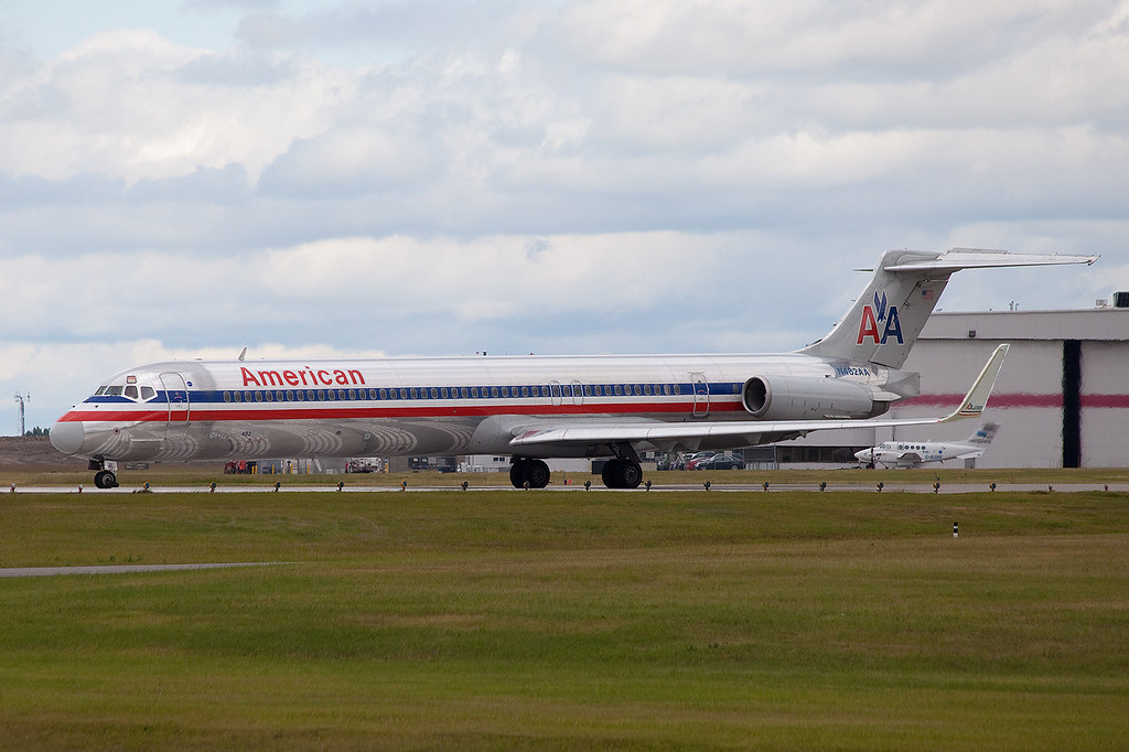 American MD80 with Winglets taxiing  Will Brown  Flickr