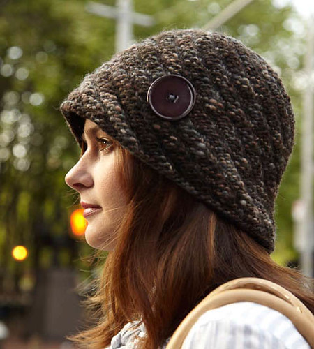 Spiral tweed cloche | by Veronik A.