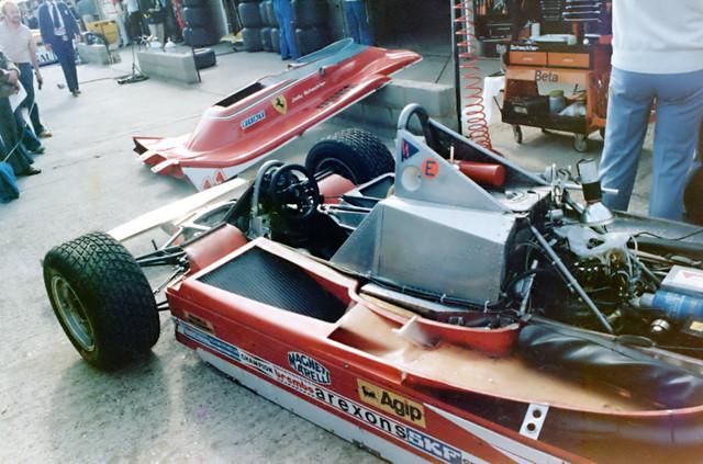 1979 Ferrari 312t4 Jody Scheckter S Car During The Pre