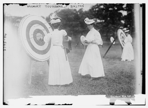 Archery tournament - Boston  (LOC) | by The Library of Congress