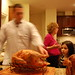 Doug Carves the Turkey