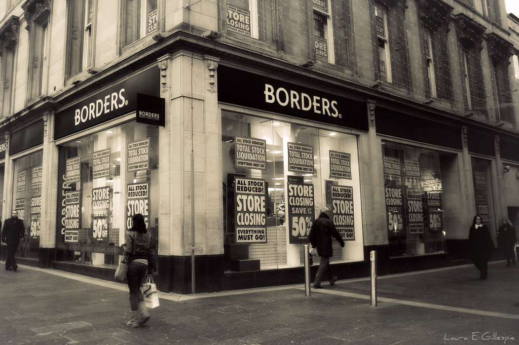 Borders Closing Down Borders is Closing Down