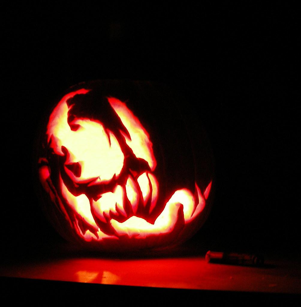 my venom pumpkin tres roemer flickr
