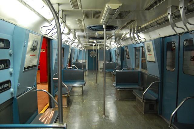 interior of train car a newer subway car brian imagawa flickr. Black Bedroom Furniture Sets. Home Design Ideas