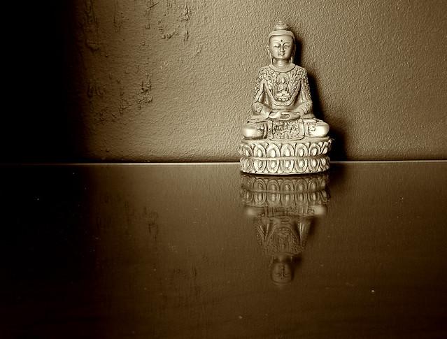 reflecting buddha