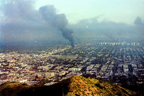 LA Burns: From Nichols Canyon | by Dark Sevier