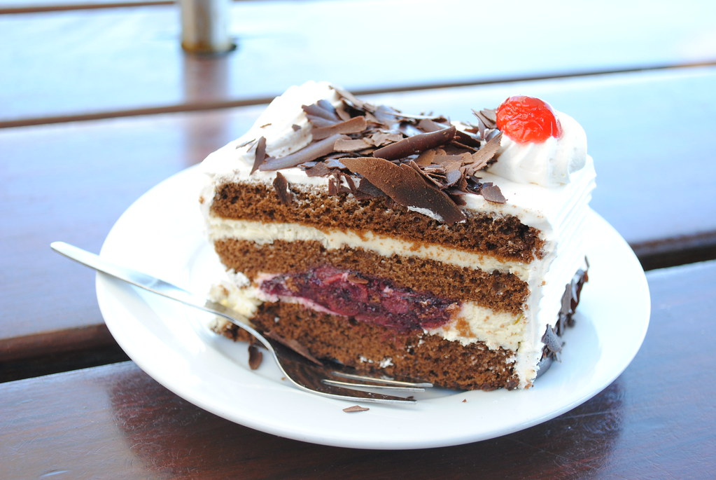 White Forest Cake Recipe By Lakshmi Nair